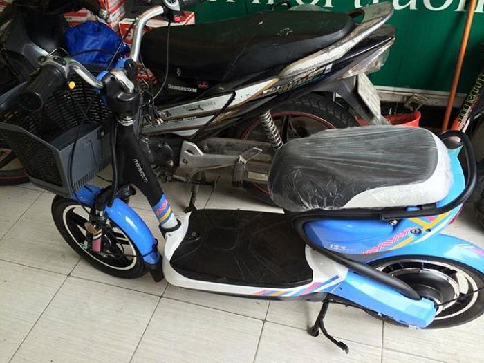 Xe đạp điện Giant M133 Mini xanh