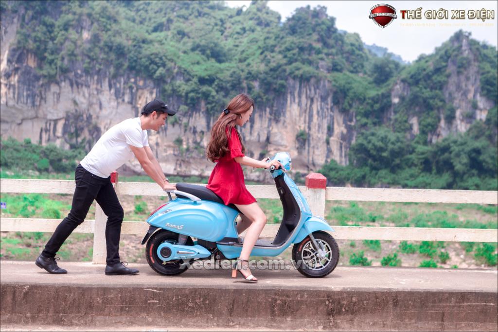 Xe máy điện Roma S DKbike - mẫu xe nữ tính dành cho các quý cô